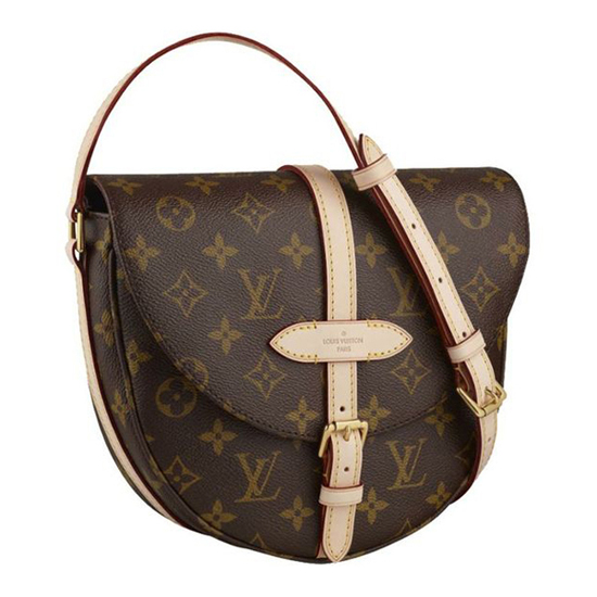 Louis Vuitton M40647 Chantilly GM Crossbody Bag Monogram Canvas