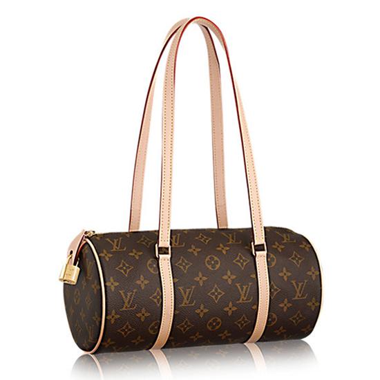 Louis Vuitton M40711 Papillon NM Shoulder Bag Monogram Canvas