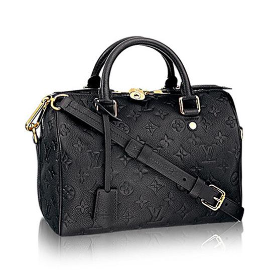 Louis Vuitton M40762 Speedy 25 Tote Bag Monogram Empreinte Leather