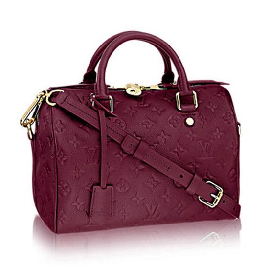 Louis Vuitton M40764 Speedy 25 Tote Bag Monogram Empreinte Leather