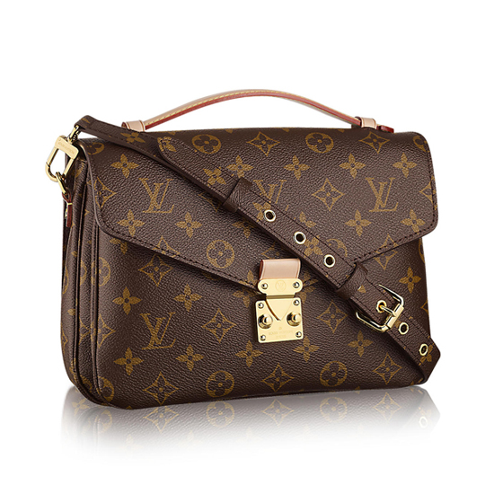 Louis Vuitton M40780 Pochette Metis Crossbody Bag Monogram Canvas