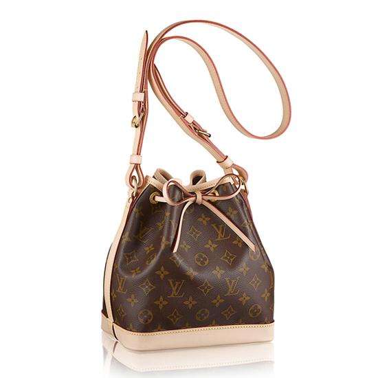 Louis Vuitton M40817 Noe BB Shoulder Bag Monogram Canvas