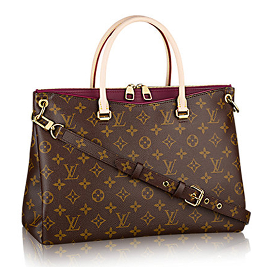 Louis Vuitton M40906 Pallas Tote Bag Monogram Canvas