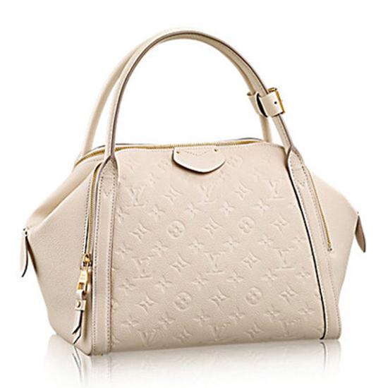 Louis Vuitton M41039 Marais MM Tote Bag Monogram Empreinte Leather