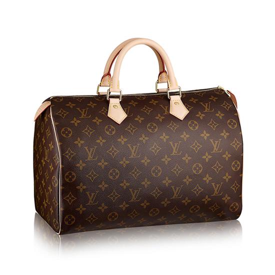 Louis Vuitton M41107 Speedy 35 Tote Bag Monogram Canvas