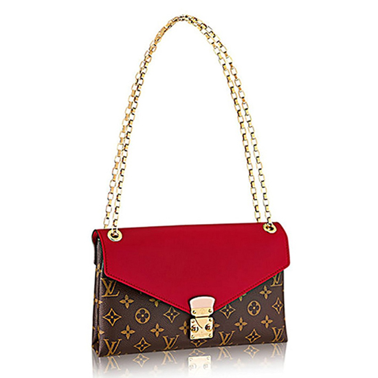 Louis Vuitton M41201 Pallas Chain Shoulder Bag Monogram Canvas