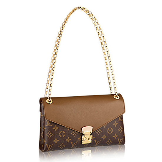 Louis Vuitton M41203 Pallas Chain Shoulder Bag Monogram Canvas