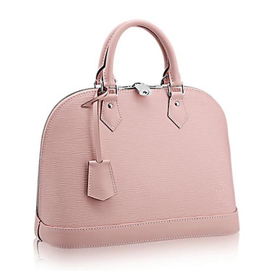 Louis Vuitton M41323 Alma PM Tote Bag Epi Leather