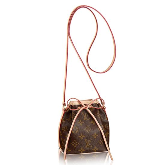 Louis Vuitton M41346 Nano Noe Shoulder Bag Monogram Canvas