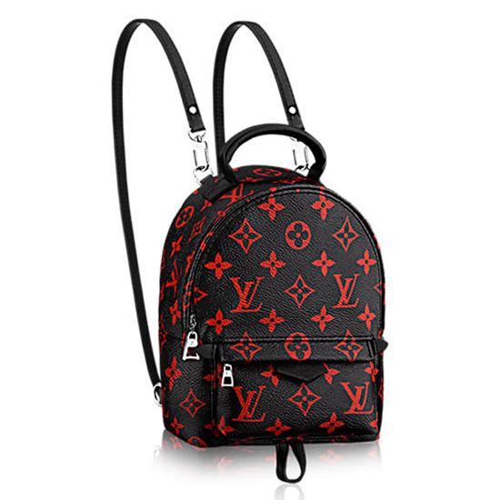 Louis Vuitton M41457 Palm Springs Backpack Mini Monogram Canvas