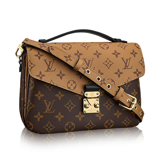 Louis Vuitton M41465 Pochette Metis Crossbody Bag Monogram Canvas