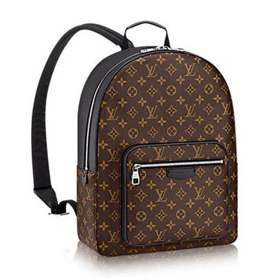 Louis Vuitton M41530 Josh Backpack Monogram Macassar Canvas