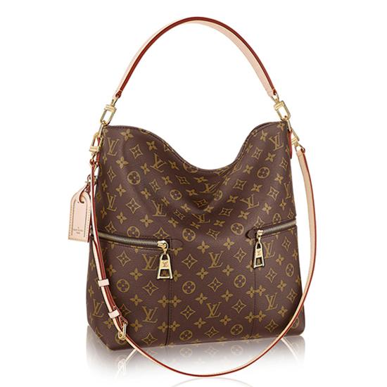 Louis Vuitton M41544 Melie Hobo Bag Monogram Canvas