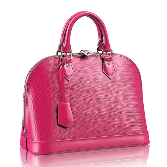 Louis Vuitton M42046 Alma PM Tote Bag Epi Leather
