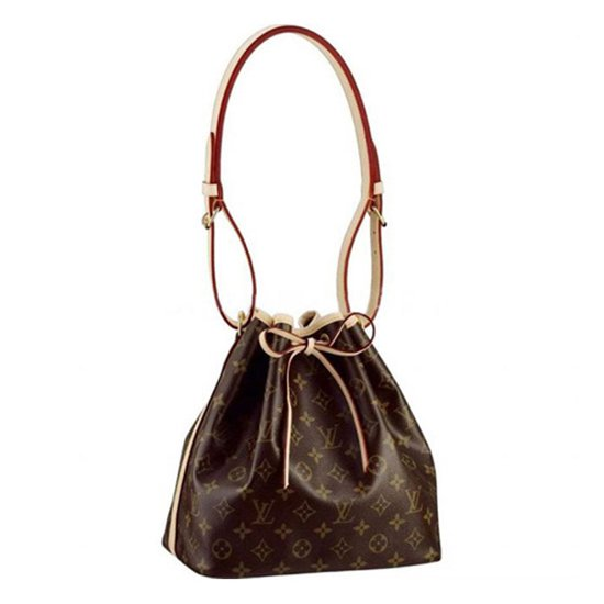 Louis Vuitton M42226 Petit Noe Shoulder Bag Monogram Canvas