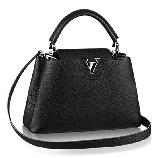 Louis Vuitton M42242 Capucines PM Tote Bag Taurillon Leather