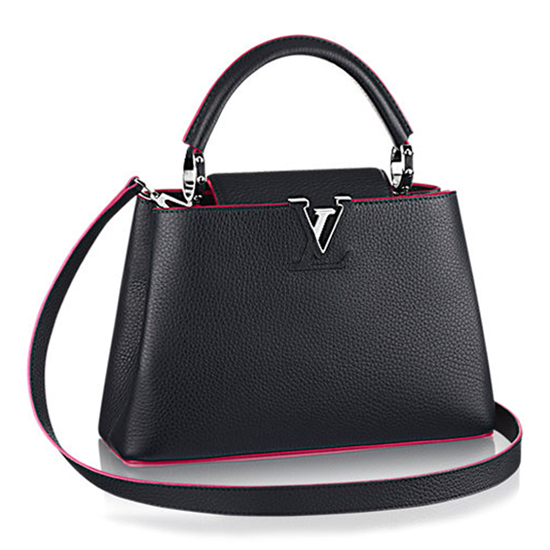 Louis Vuitton M42245 Capucines PM Tote Bag Taurillon Leather