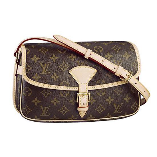 Louis Vuitton M42250 Sologne Crossbody Bag Monogram Canvas