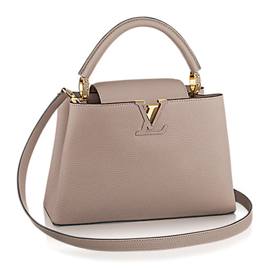 Louis Vuitton M42253 Capucines PM Tote Bag Taurillon Leather