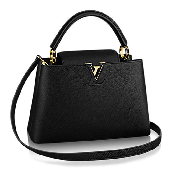 Louis Vuitton M42259 Capucines PM Tote Bag Taurillon Leather