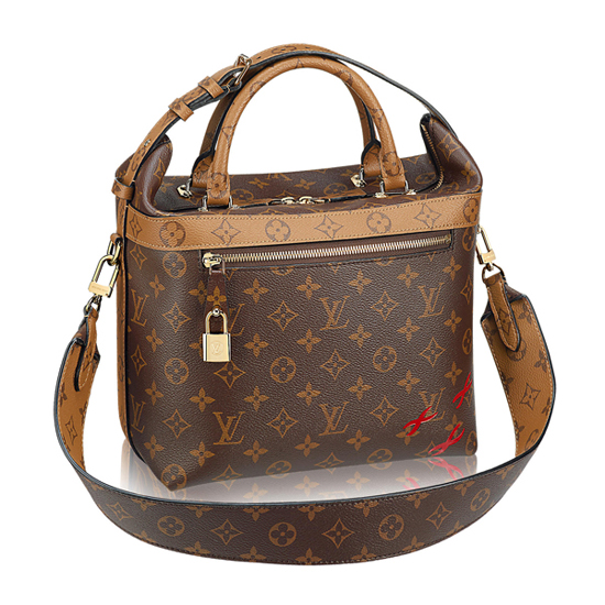 Louis Vuitton M42410 City Cruiser PM Tote Bag Monogram Canvas