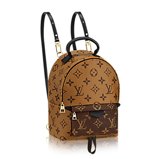 Louis Vuitton M42411 Palm Springs Backpack Mini Monogram Canvas