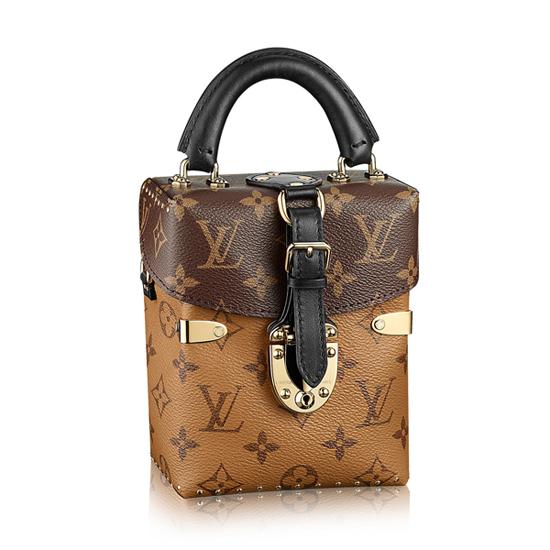 Louis Vuitton M42999 Camera Box Crossbody Bag Monogram Canvas