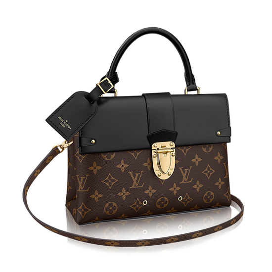 Louis Vuitton M43125 One Handle Flap Bag MM Shoulder Bag Monogram Canvas