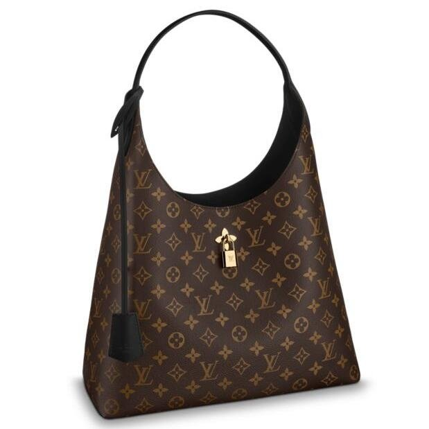 Louis Vuitton Flower Hobo Monogram Canvas M43545
