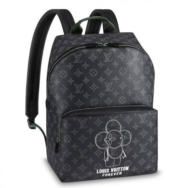 Louis Vuitton Apollo Backpack Vivienne Monogram Eclipse M43675