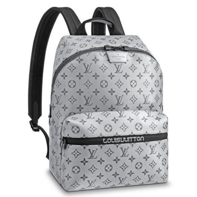 Louis Vuitton Apollo Backpack Monogram Silver M43845