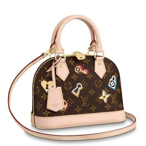 Louis Vuitton Alma BB Bag Monogram Canvas M44368