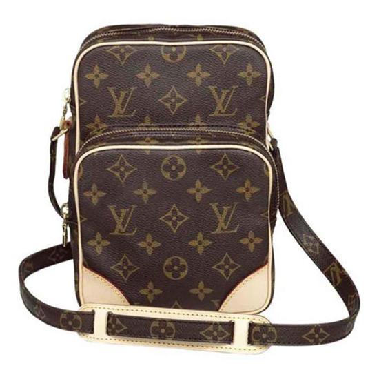 Louis Vuitton M45236 Amazone Crossbody Bag Monogram Canvas