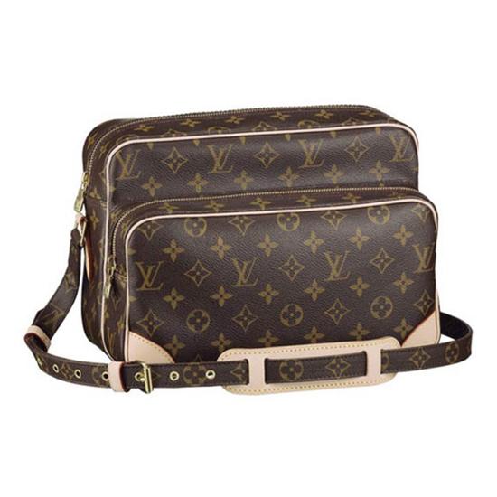 Louis Vuitton M45244 Nil Crossbody Bag Monogram Canvas