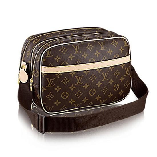 Louis Vuitton M45254 Reporter PM Messenger Bag Monogram Canvas