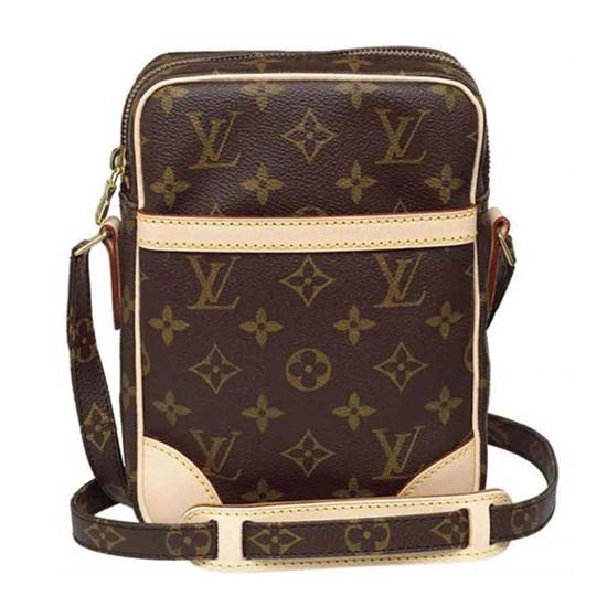 Louis Vuitton M45266 Danube Messenger Bag Monogram Canvas