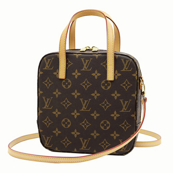 Louis Vuitton M47500 Spontini Tote Bag Monogram Canvas