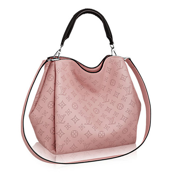 Louis Vuitton M50033 Babylone PM Hobo Bag Mahina Leather