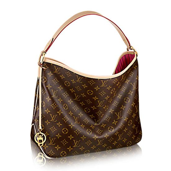 Louis Vuitton M50155 Delightful PM Hobo Bag Monogram Canvas