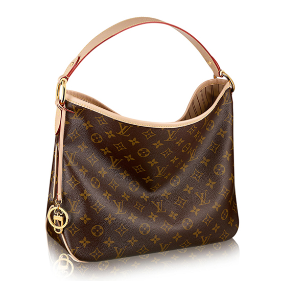 Louis Vuitton M50156 Delightful MM Hobo Bag Monogram Canvas