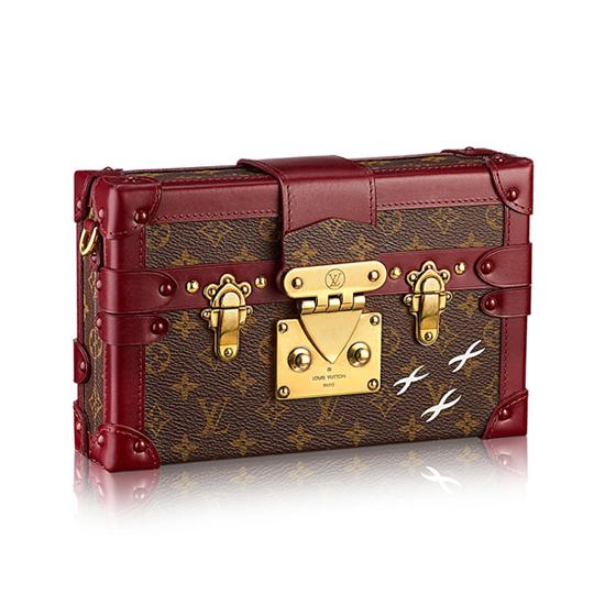 Louis Vuitton M50388 Petite Malle Crossbody Bag Monogram Canvas