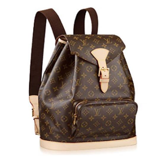 Louis Vuitton M51135 Montsouris GM Backpack Monogram Canvas