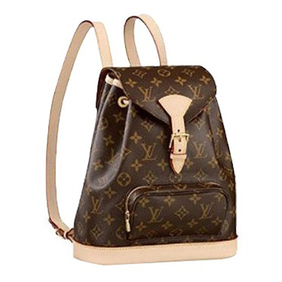 Louis Vuitton M51136 Montsouris MM Backpack Monogram Canvas