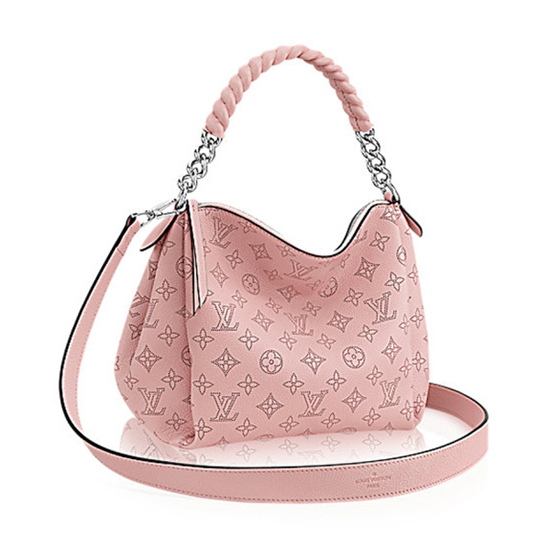 Louis Vuitton M51219 Babylone Chain BB Hobo Bag Mahina Leather