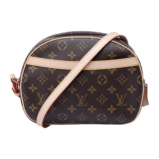 Louis Vuitton M51221 Blois Crossbody Bag Monogram Canvas