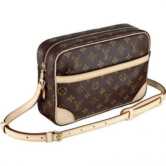 Louis Vuitton M51274 Trocadero 27 Messenger Bag Monogram Canvas