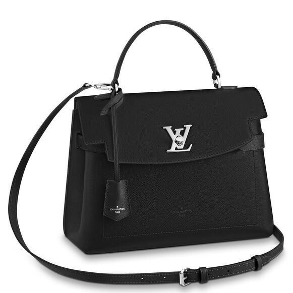 Louis Vuitton Black Lockme Ever Bag M51395