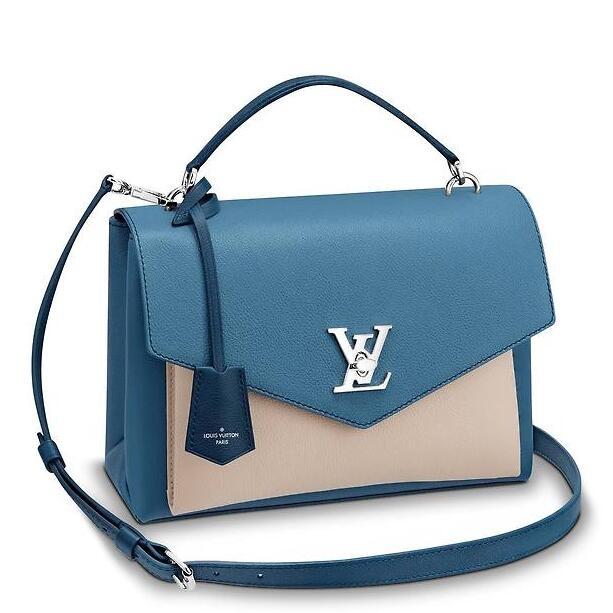 Louis Vuitton Blue Jean MyLockme Bag M51415