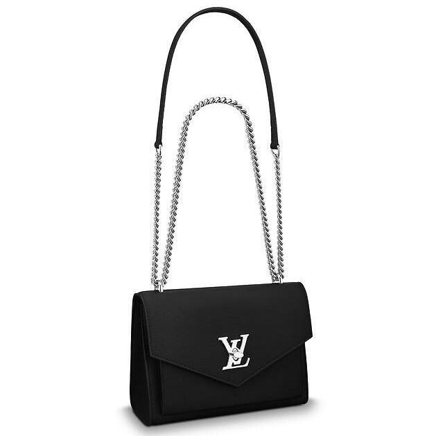 Louis Vuitton Black Mylockme BB Bag M51418