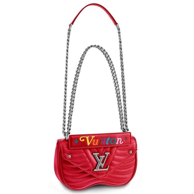 Louis Vuitton Red New Wave Chain Bag PM M51930